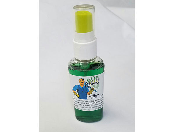 Machinist Mate Bug Remover Travel Size (Formerly Splat Bug Remover)