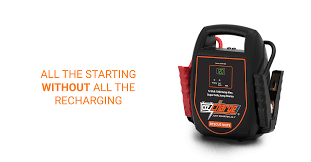 OZ CHARGE RESCUE MATE 1000 CAPACITOR JUMP STARTER -NEVER WORRY ABOUT A DEAD BATTERY AGAIN!!!