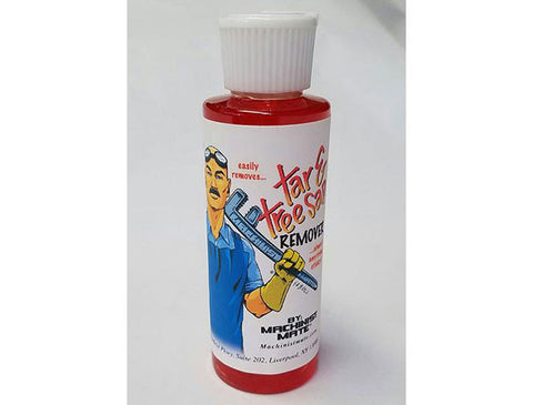 Machinist Mate Tar and Tree Sap Remover 4-oz bottle