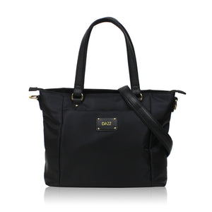Work On the Go Tote Bag - Jet Black