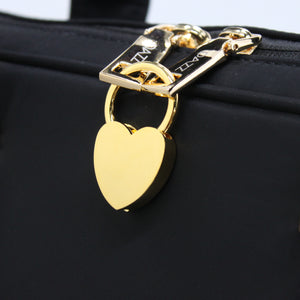 Metal Heart Padlock (Personalisation Available)