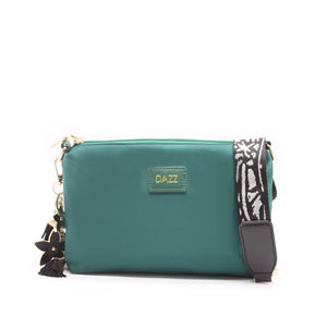 On the Go Sling Bag Mini - Pine Green