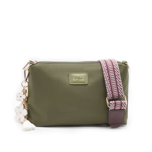 On the Go Sling Bag Mini - Olive Green