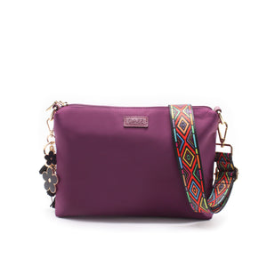 On the Go Sling Bag - Majestic Magenta