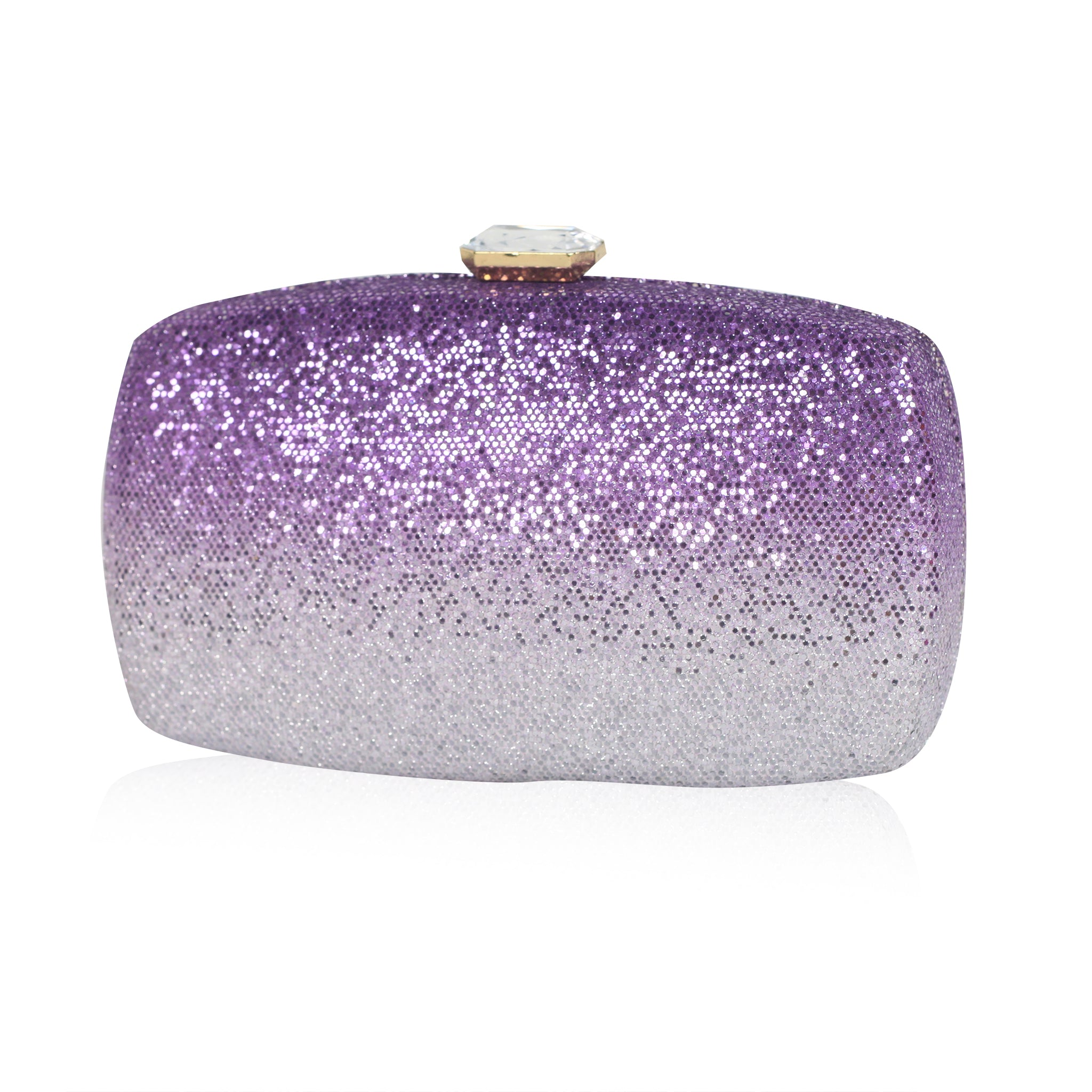 Ombre Clutch - Purple