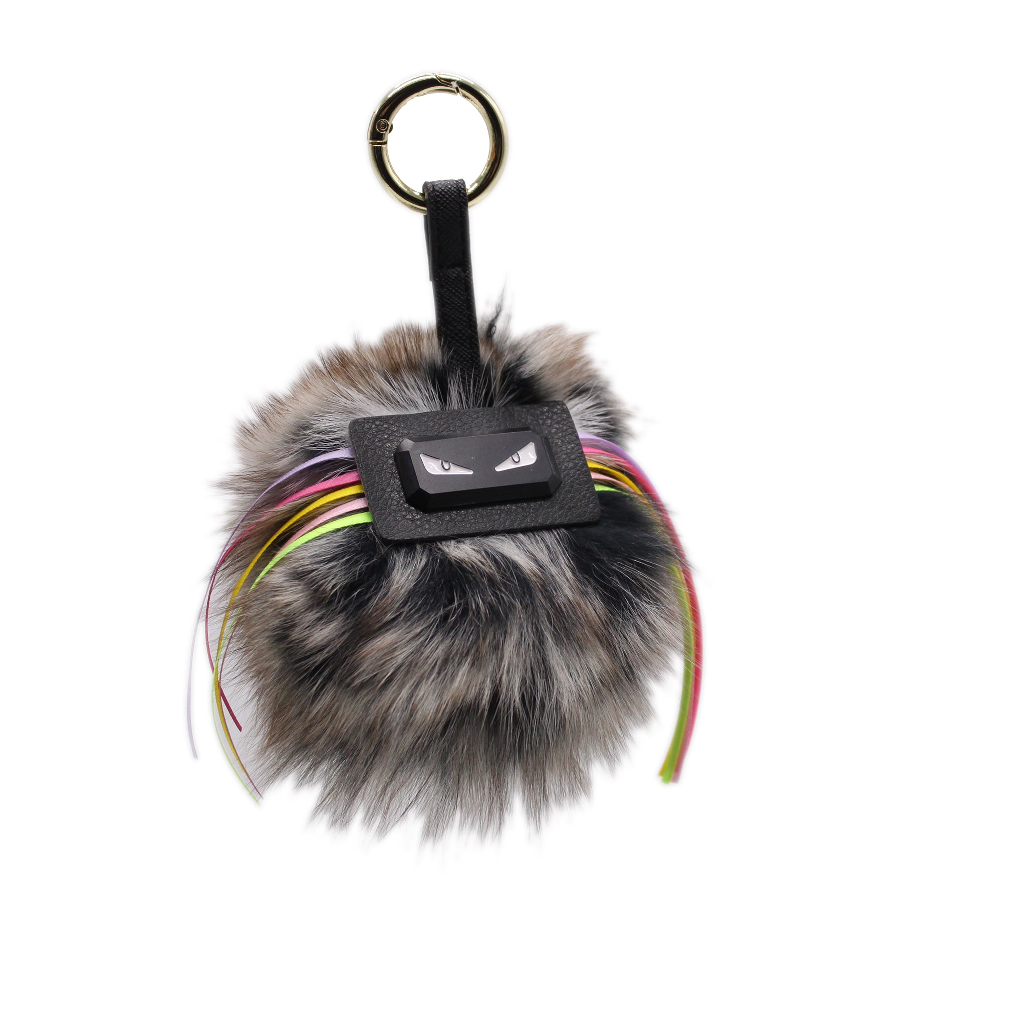 Monster Ball Keychain - Black