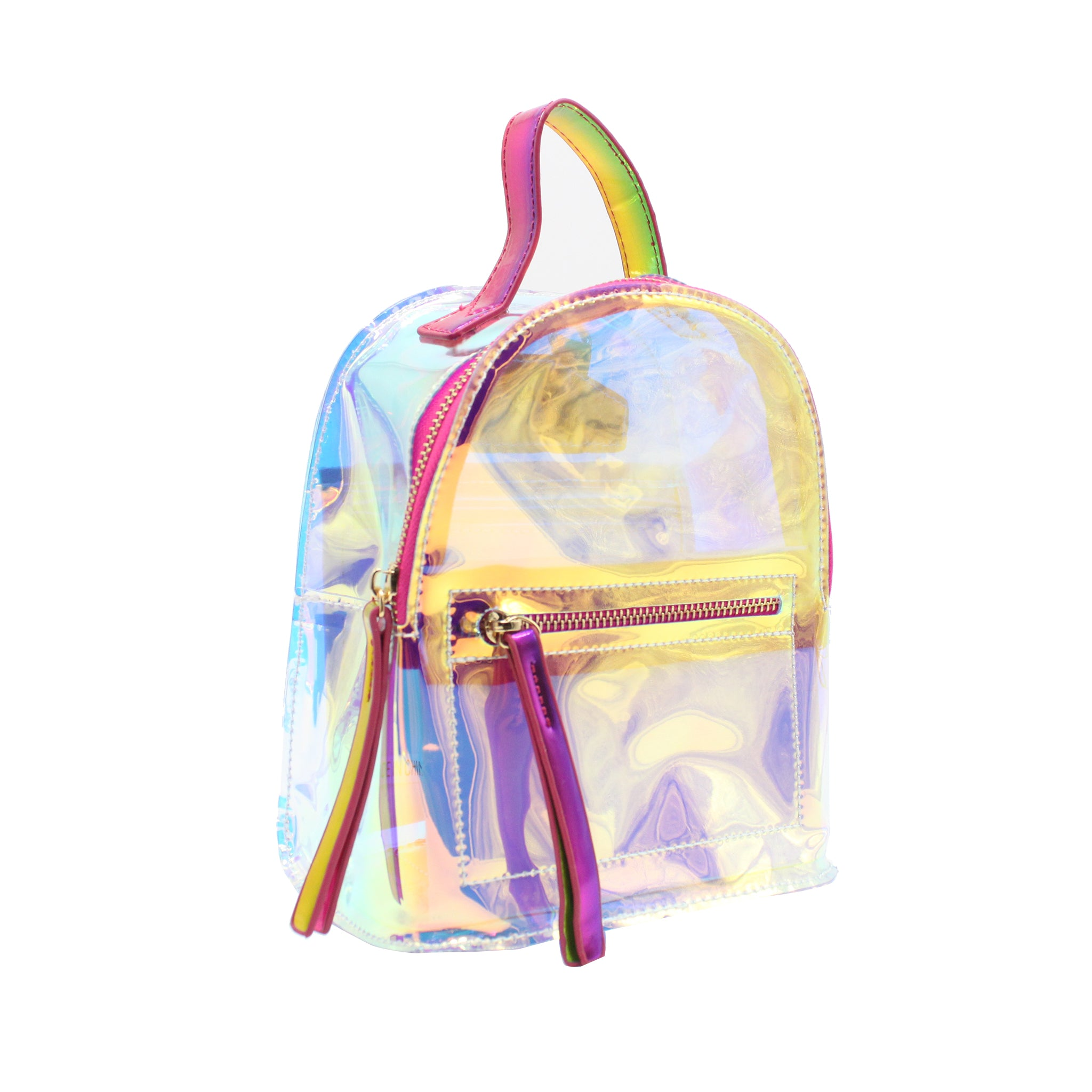 Holographic Mini Backpack/Shoulder Bag - Multicolour