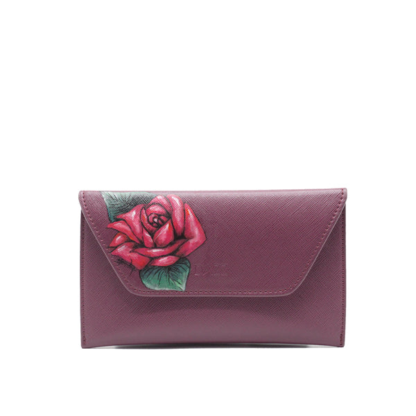 LIMITED EDITION: On the Go 'Majestic Magenta' Classic w Rose