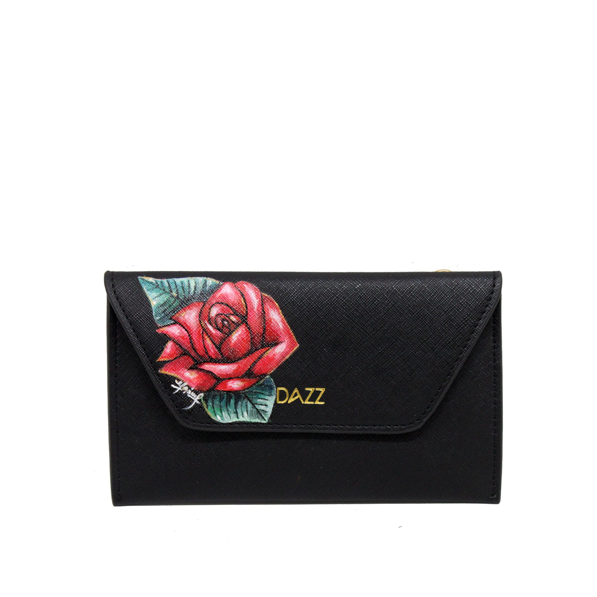 LIMITED EDITION: On the Go 'Brilliant Black' Classic w Rose