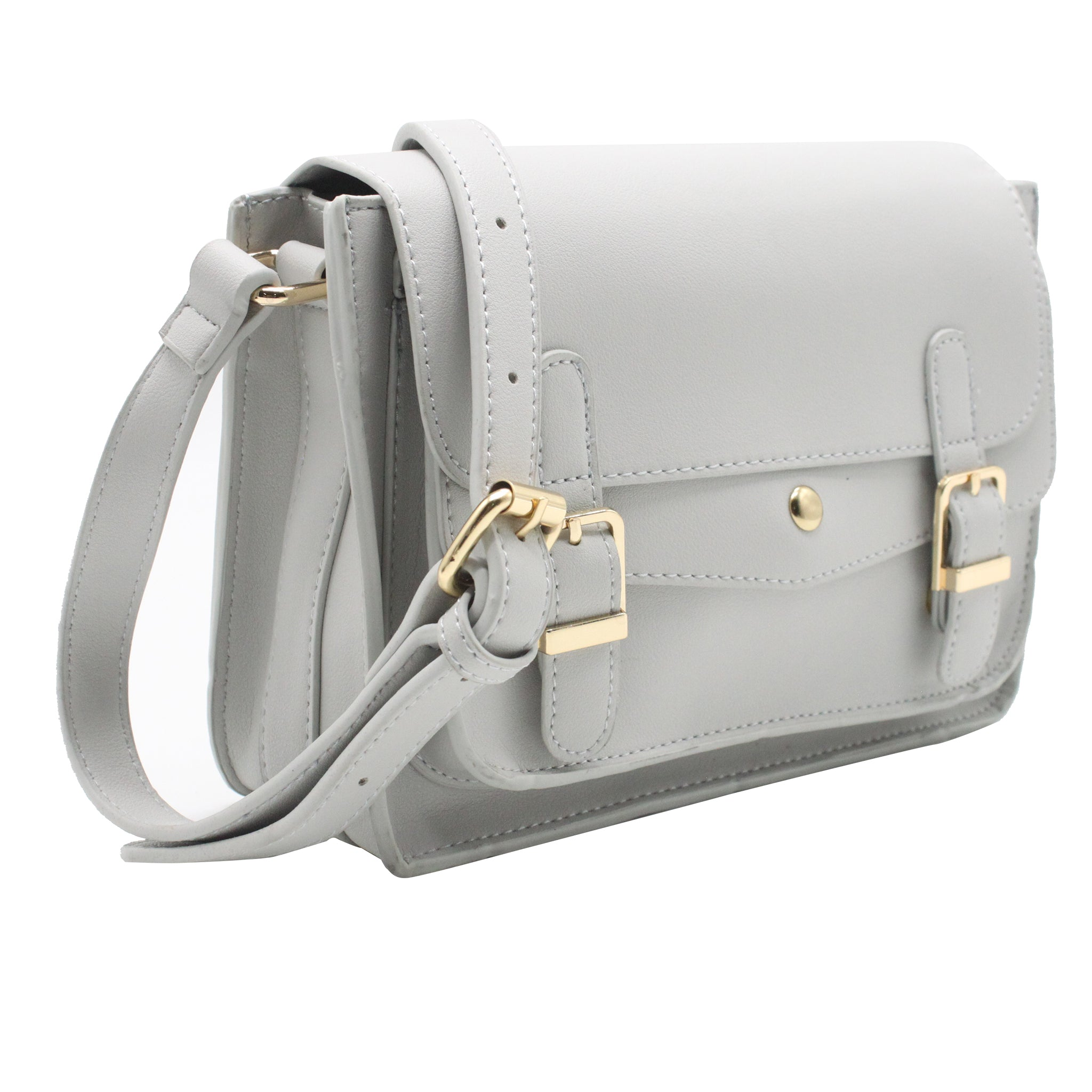 Satchel Bag - Grey