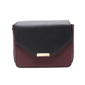 Flip Flap Bag - Maroon