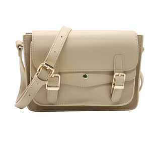 Satchel Bag - Beige