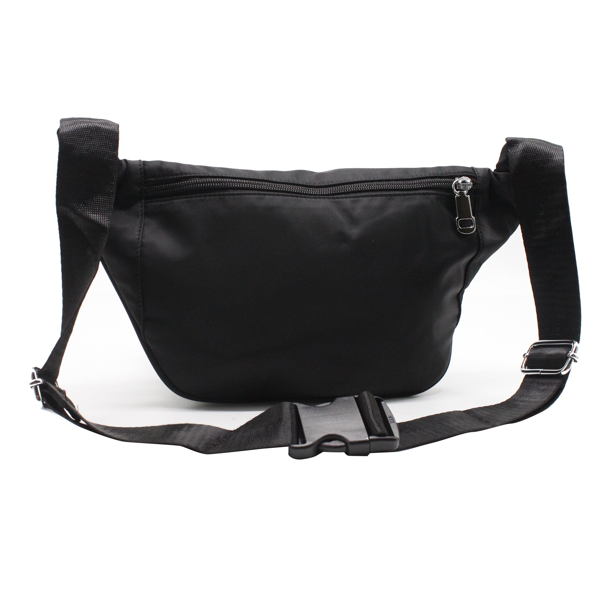 Nylon Chest Pack - Black