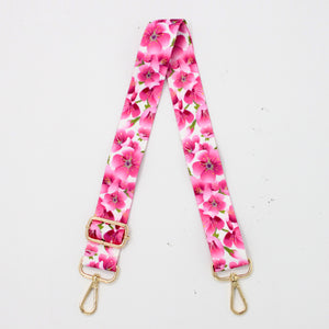 Sakura Canvas Shoulder Strap
