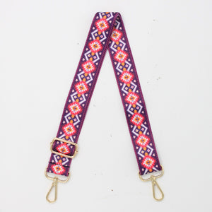 Tribal Canvas Shoulder Strap