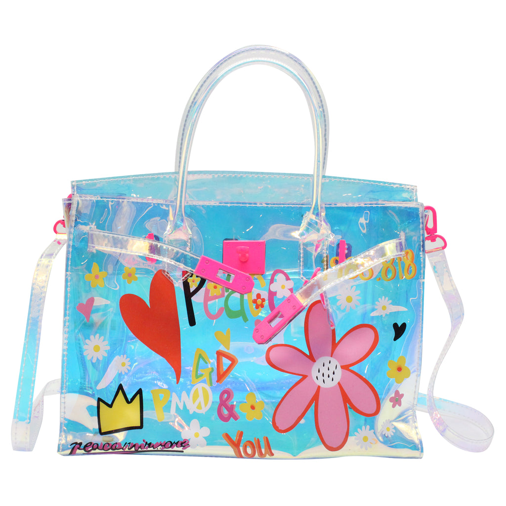 Holographic Jelly Tote Bag
