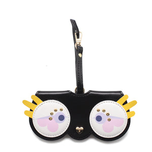 Glasses Case with Bag Holder – Owl Glasses Black