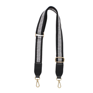 Mono Stripes Nylon Shoulder Bag Strap