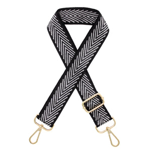 Silver Arrow Nylon Shoulder Bag Strap