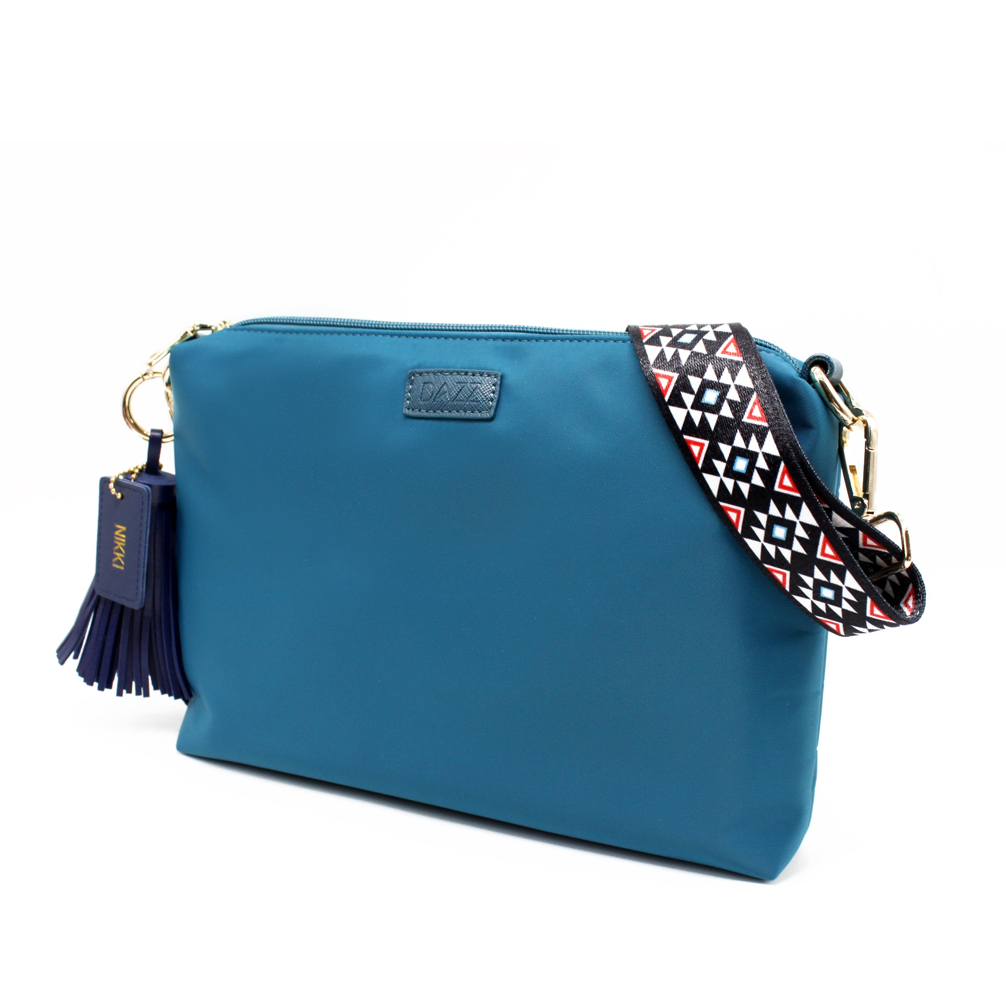 On the Go Sling Bag - Electric Teal