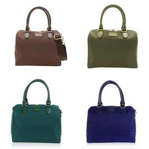 On the Go Mini 3-in-1 Handbag - Choc Brown/Olive Green/Pine Green/Royal Blue
