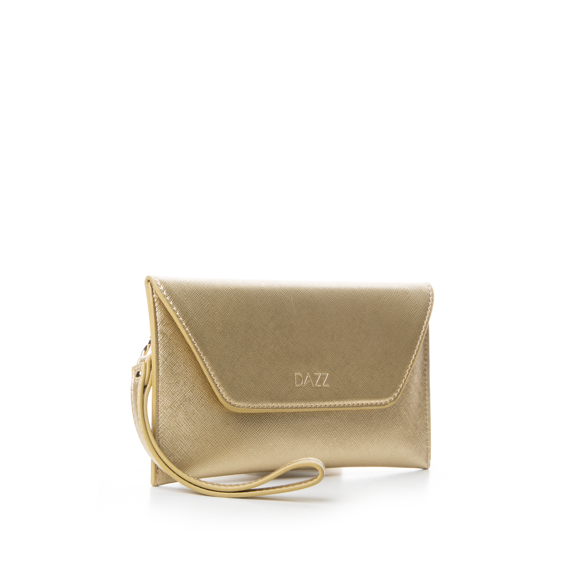 On the Go by Dazz Clutch - Metallic Gold
