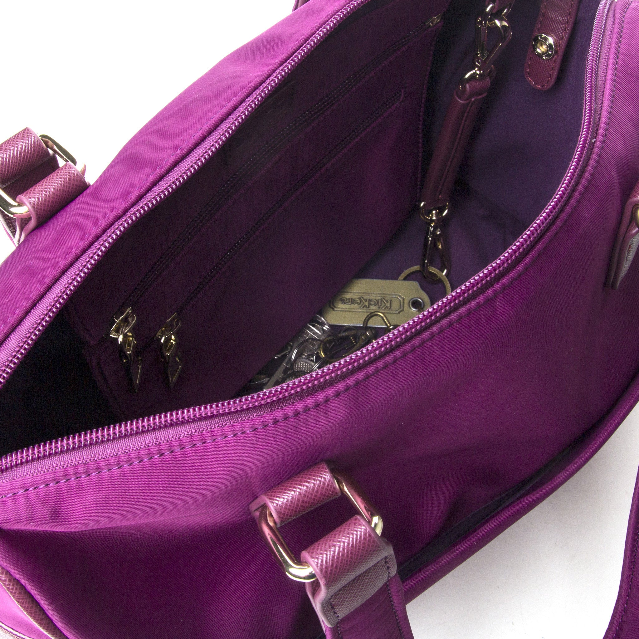 LIMITED EDITION: On the Go 'Majestic Magenta' Classic w Hibiscus