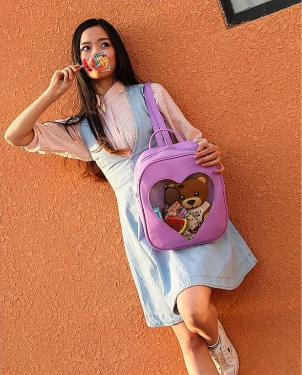 Candy Backpack - Purple