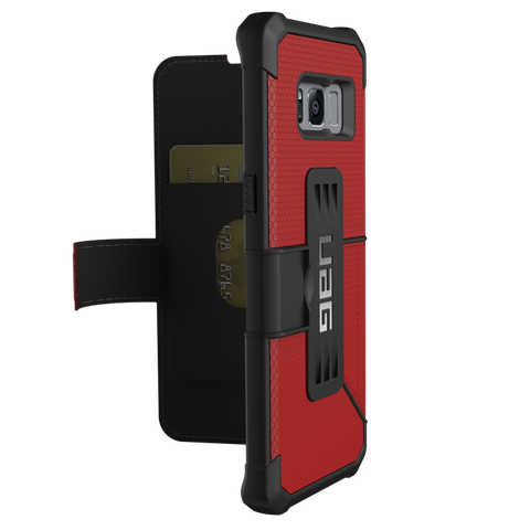 UAG Metropolis Rugged Wallet Folio Case For Galaxy S8