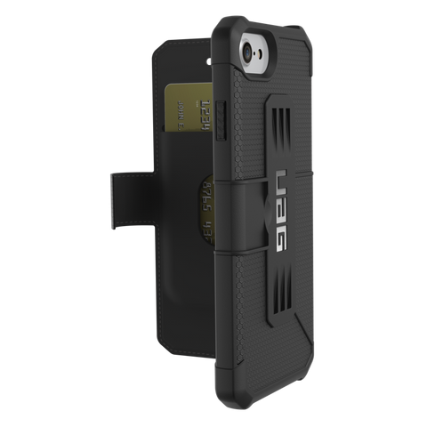 UAG Metropolis Rugged Folio Wallet Case For iPhone 8/7/6S