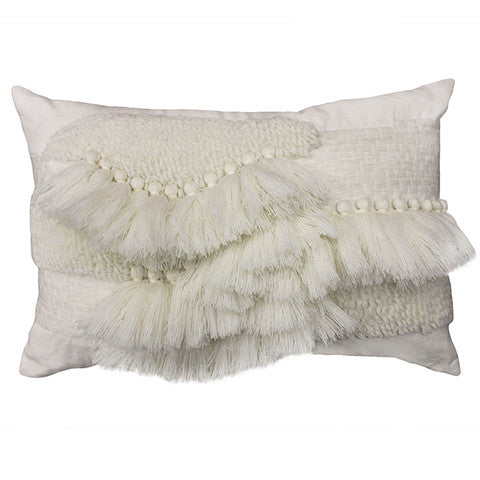 Cushion Tufted Aria in White