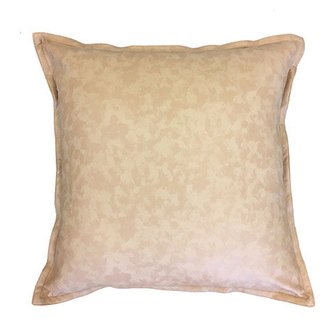 Cushion Boston Blush Leather Look