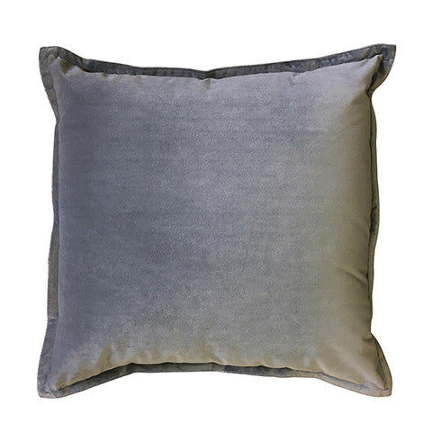 Cushion Classic Mira Velvet in Grey
