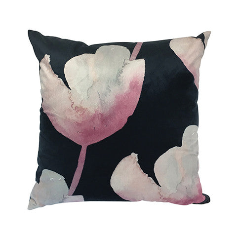 Cushion Classic Tulip in Velvet