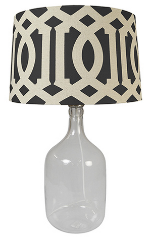 Latifa Lamp Black