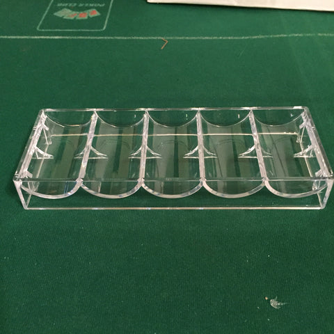 Clear chip racks