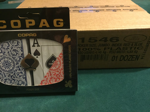 Case Copag Jumbo Playing Cards