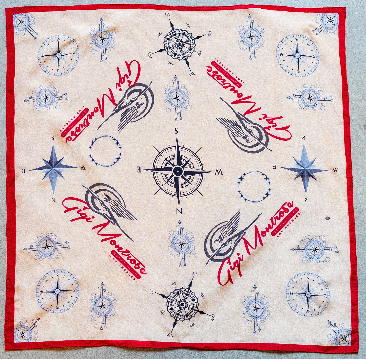 """On the Go"" Silk Cotton Bandana"