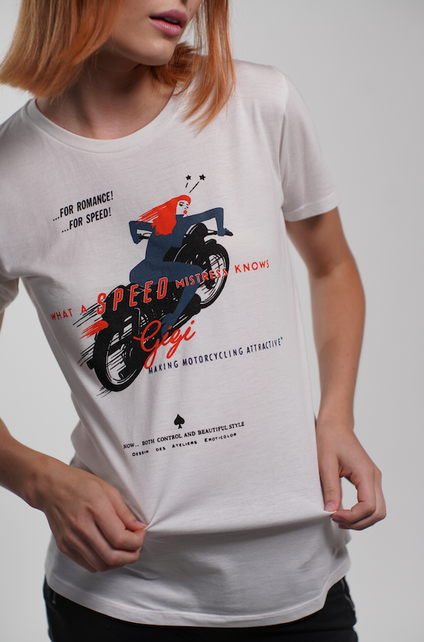 """Speed Mistress"" Tee Shirt"