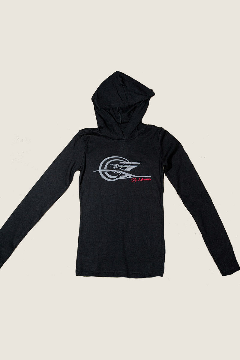 Base Layer Hoodie - Zephyr - Black
