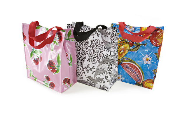 Oilcloth Lunch Tote With Handles Oilcloth Alley