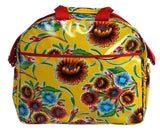 Oilcloth Carryall Bag - Yellow Springbloom