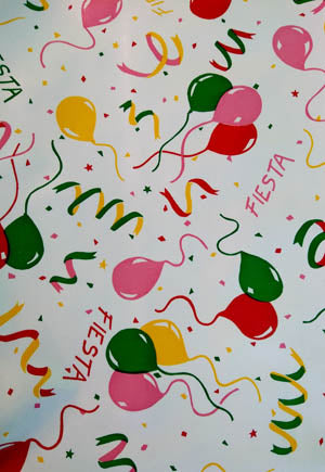 Fiesta Oilcloth Fabric -- Limited Stock