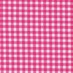 Pink Gingham Oilclorh Fabric