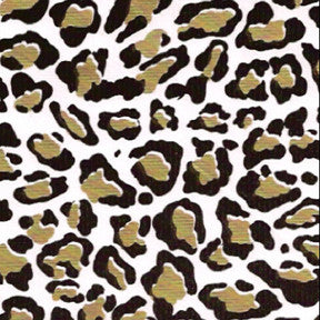 Gold Cheetah Oilcloth Fabric