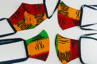 Ankara Reversible Face Masks: R.O.G.