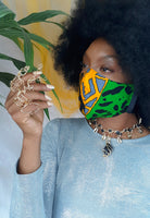 Ankara Reversible Face Mask