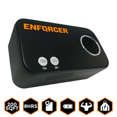 ENFORCER HSE Portable Ozone Generator with Free Protective Carry Case