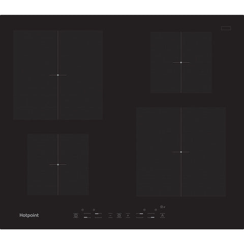 HOTPOINT CIA640C 60cm Induction Hob - Black