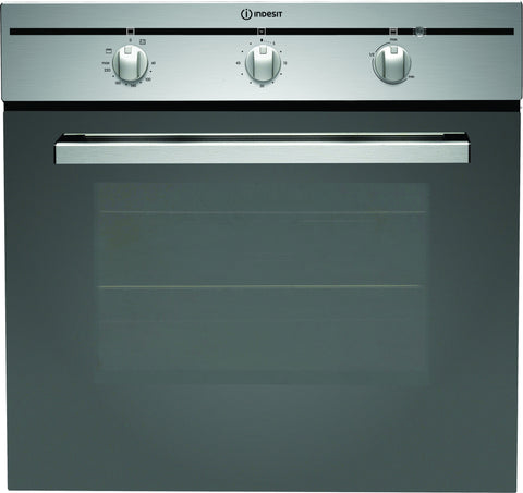 INDESIT CIMS51KAIX 60cm Single Multifunction Oven - Stainless Steel